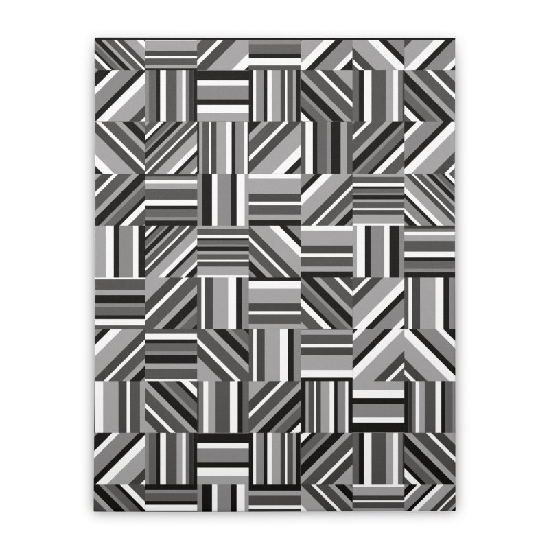 Syntony Home Stretched Canvas by bulo