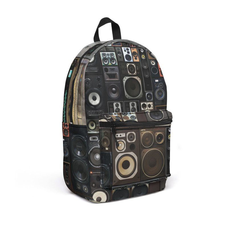 Hifidelity Accessories Backpack Bag by bulo