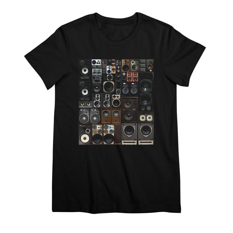 Hifidelity Women's Premium T-Shirt by bulo