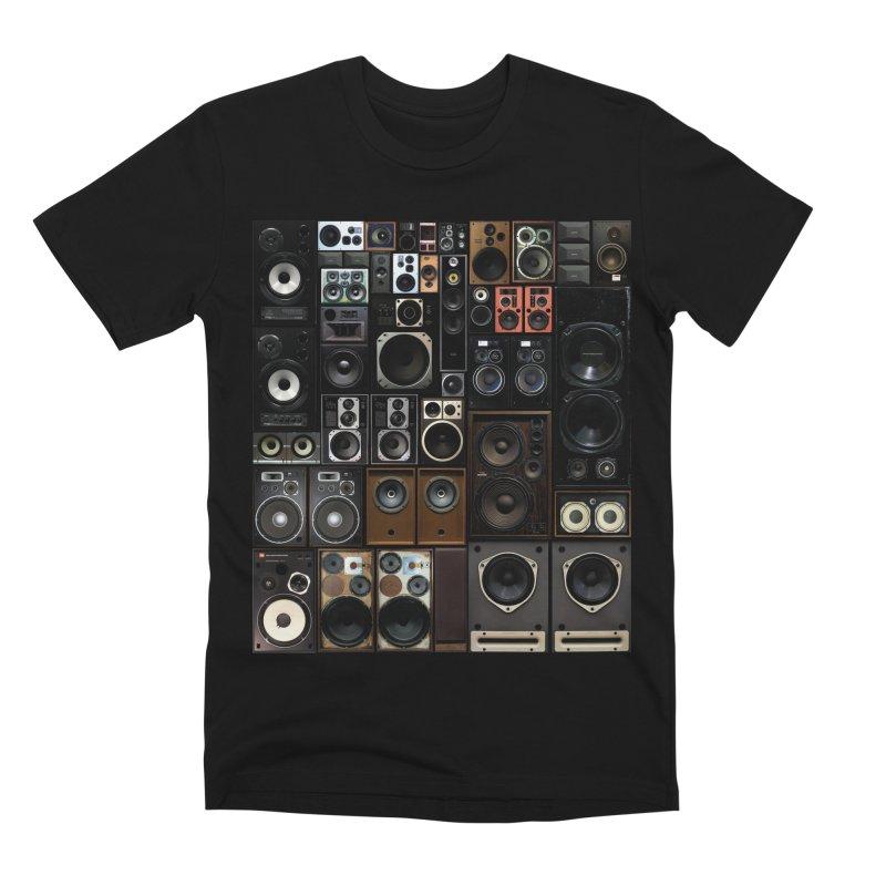 Hifidelity Men's Premium T-Shirt by bulo