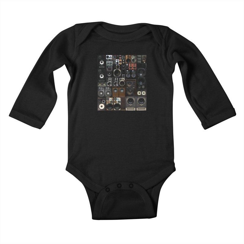 Hifidelity Kids Baby Longsleeve Bodysuit by bulo