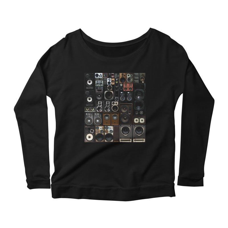 Hifidelity Women's Scoop Neck Longsleeve T-Shirt by bulo