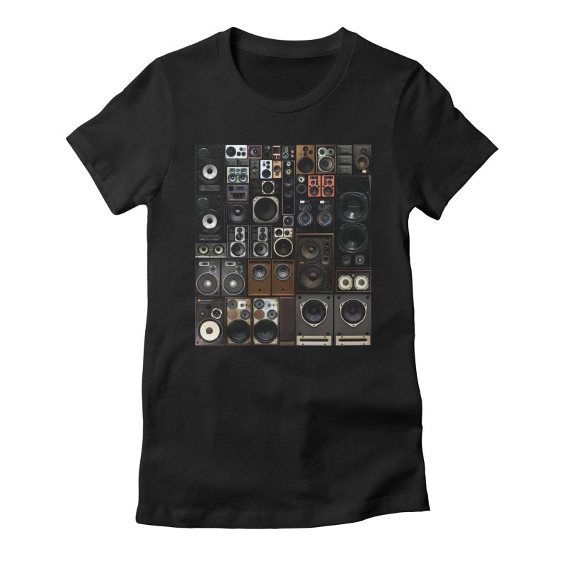 Hifidelity Women's Fitted T-Shirt by bulo