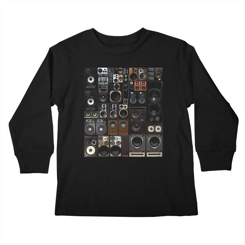 Hifidelity Kids Longsleeve T-Shirt by bulo