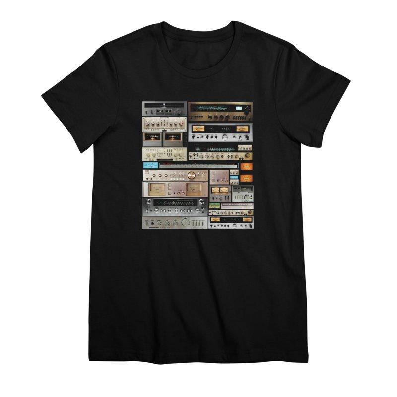 Audio Mix Women's T-Shirt by bulo