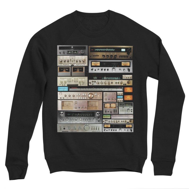 Audio Mix Men's Sponge Fleece Sweatshirt by bulo