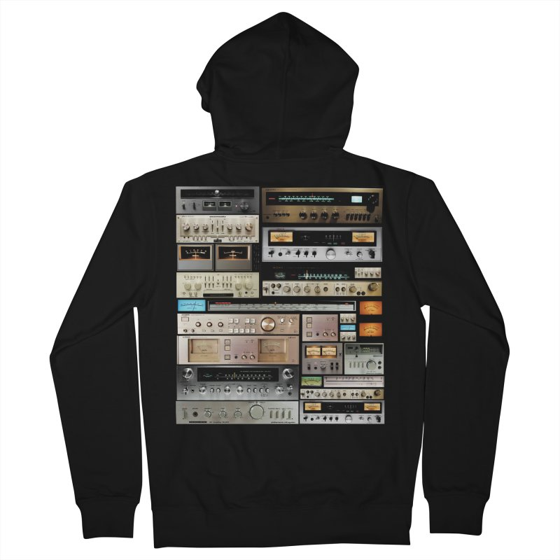 Audio Mix Men's French Terry Zip-Up Hoody by bulo