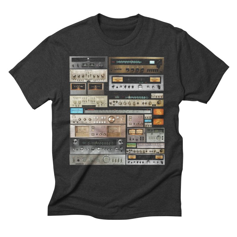 Audio Mix Men's Triblend T-Shirt by bulo