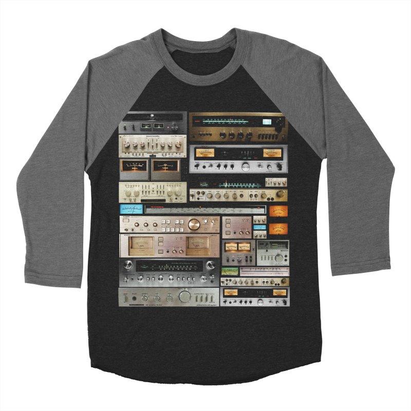 Audio Mix Women's Baseball Triblend Longsleeve T-Shirt by bulo