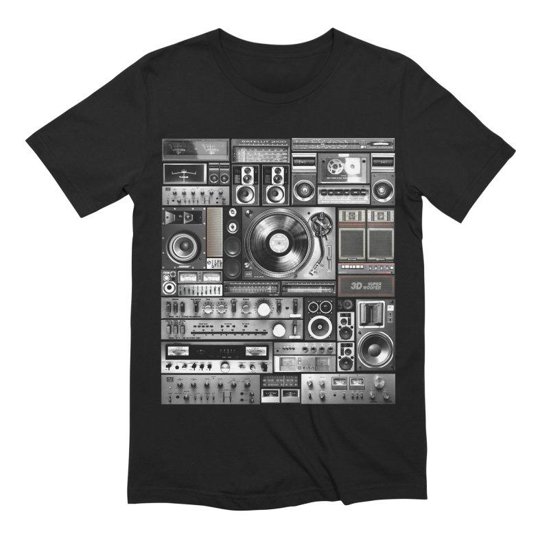 Audio Remix Men's Extra Soft T-Shirt by bulo