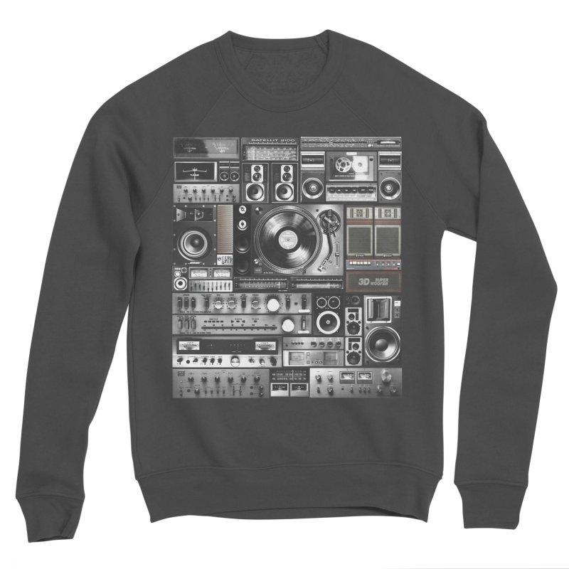 Audio Remix Men's Sponge Fleece Sweatshirt by bulo