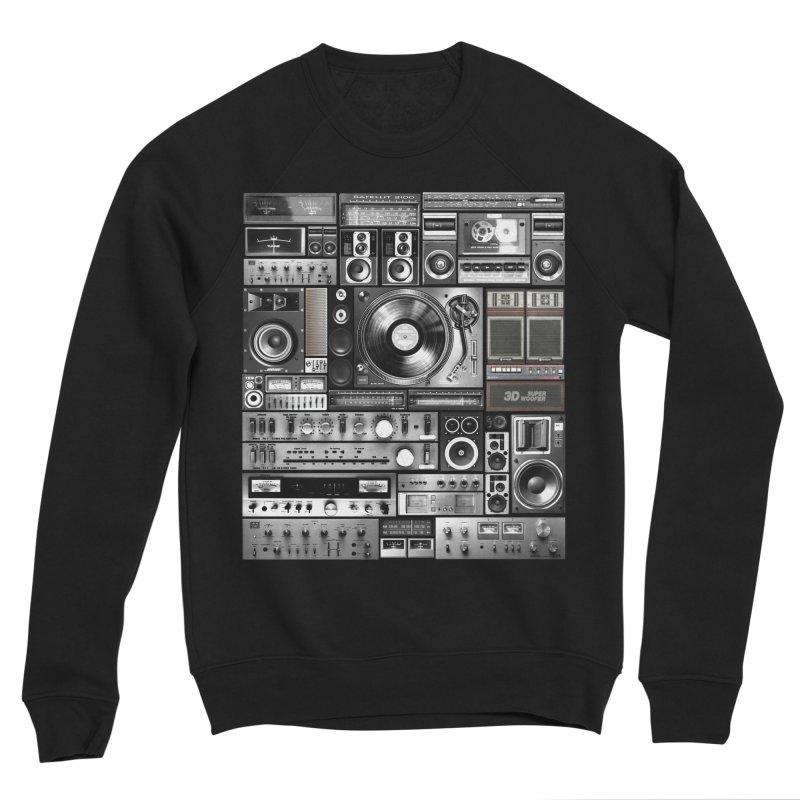 Audio Remix Women's Sponge Fleece Sweatshirt by bulo