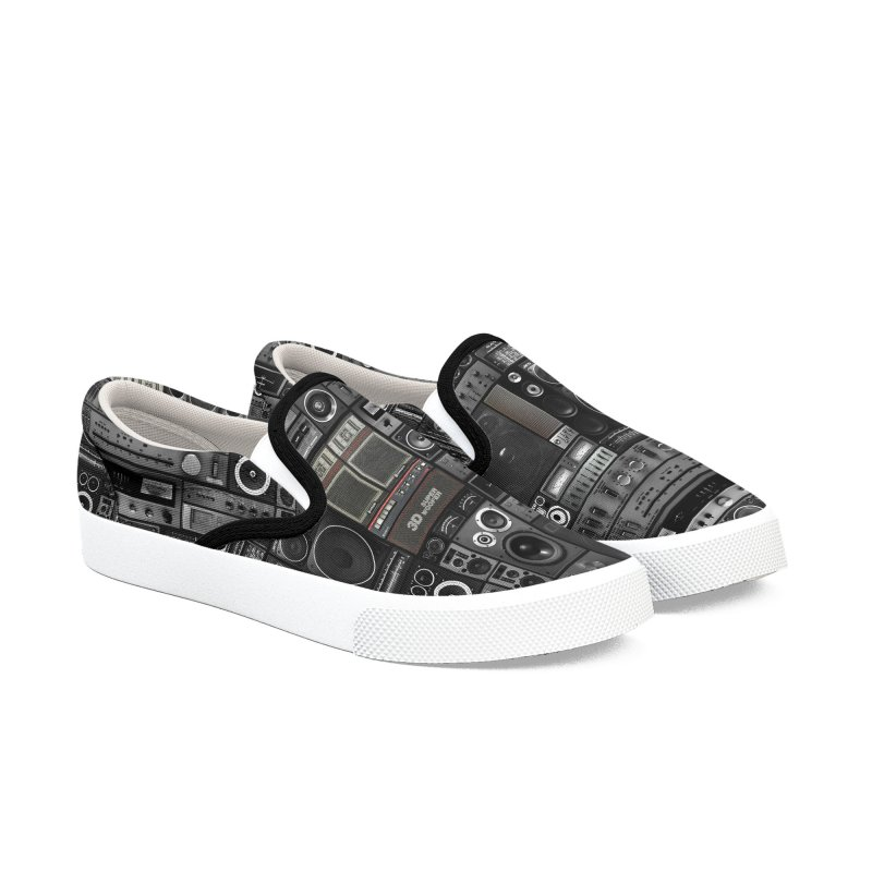 Hifidelity Remix Men's Slip-On Shoes by bulo