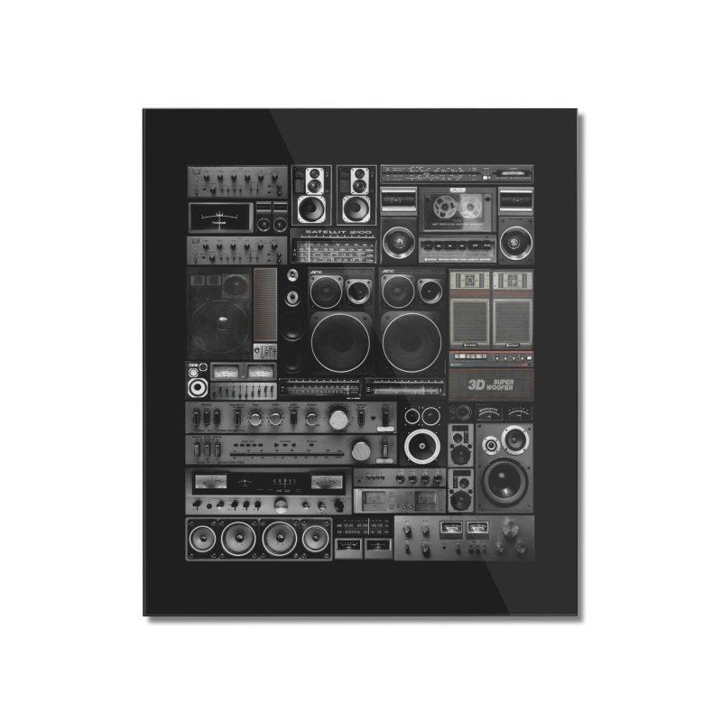 Hifidelity Remix Home Mounted Acrylic Print by bulo