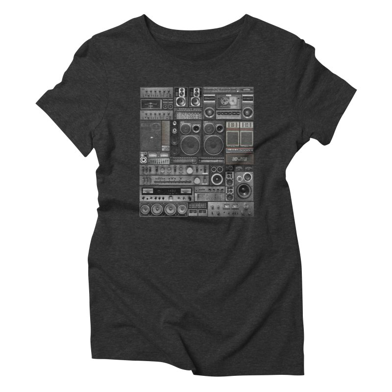 Hifidelity Remix Women's Triblend T-Shirt by bulo