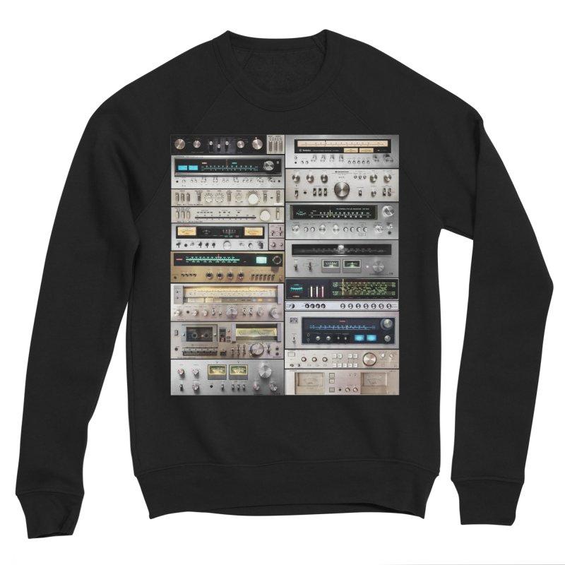 Audiomix Men's Sponge Fleece Sweatshirt by bulo