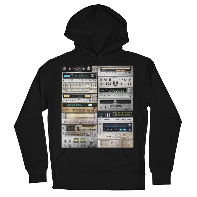 Audiomix Men's French Terry Pullover Hoody by bulo