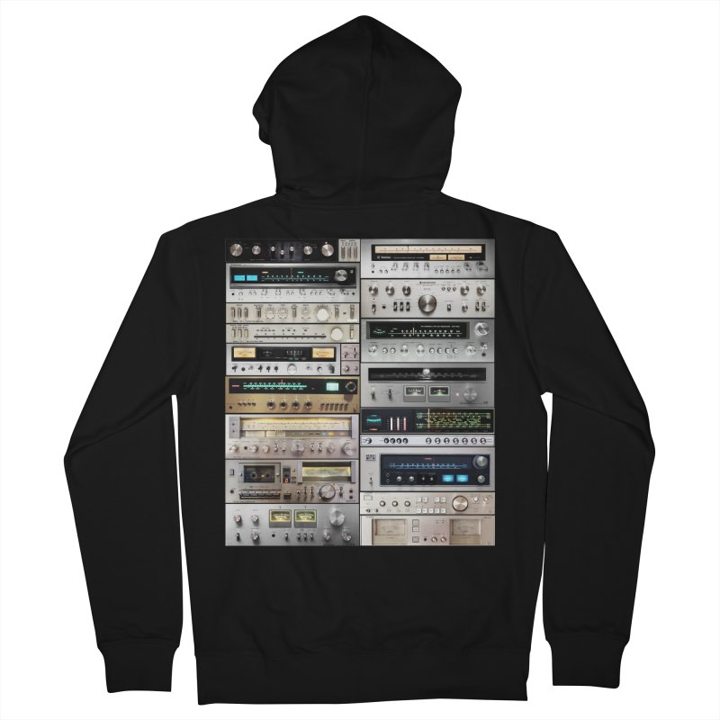Audiomix Men's French Terry Zip-Up Hoody by bulo