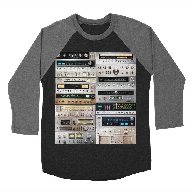 Audiomix Women's Baseball Triblend Longsleeve T-Shirt by bulo
