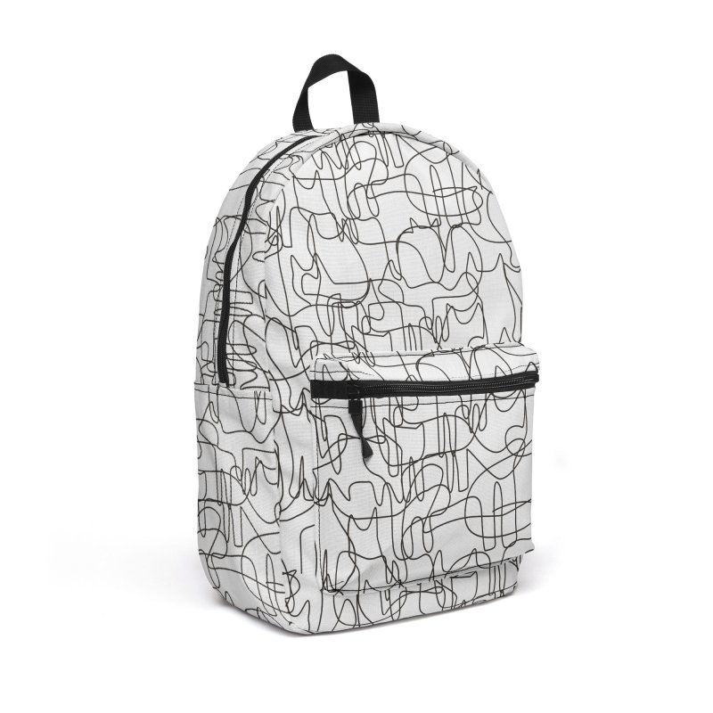 Cats Accessories Backpack Bag by bulo