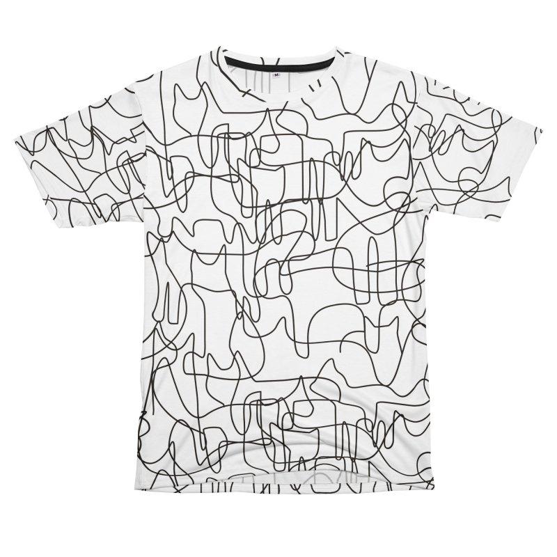 Cats Men's T-Shirt Cut & Sew by bulo