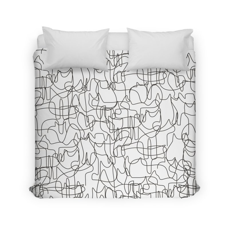 Cats Home Duvet by bulo