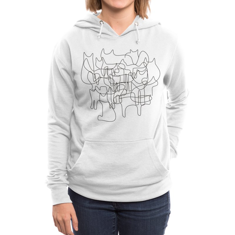cats Women's Pullover Hoody by bulo