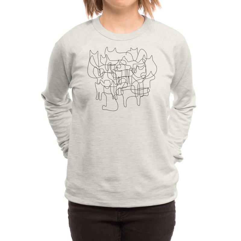 cats Women's Sweatshirt by bulo