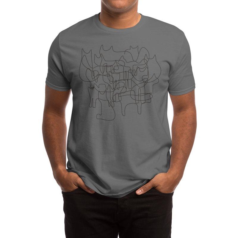 cats Men's T-Shirt by bulo