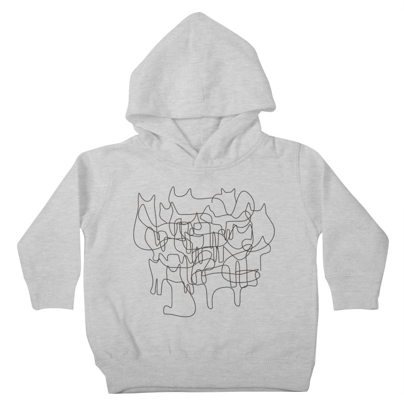 cats Kids Toddler Pullover Hoody by bulo