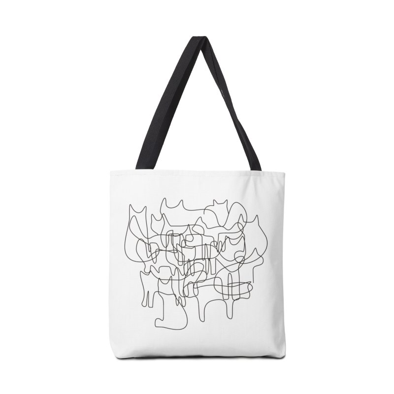 Cats Accessories Tote Bag Bag by bulo