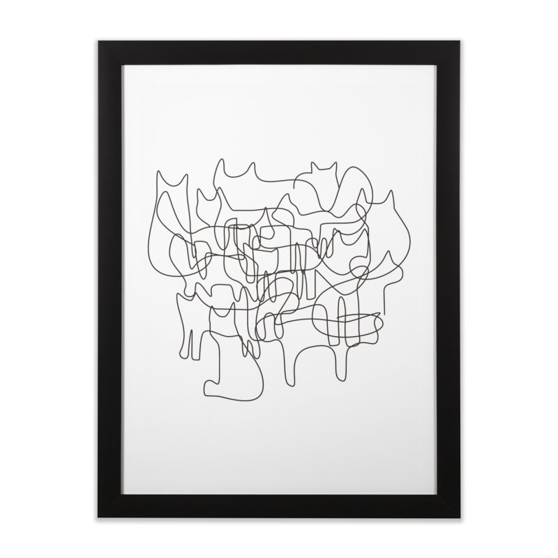 Cats Home Framed Fine Art Print by bulo