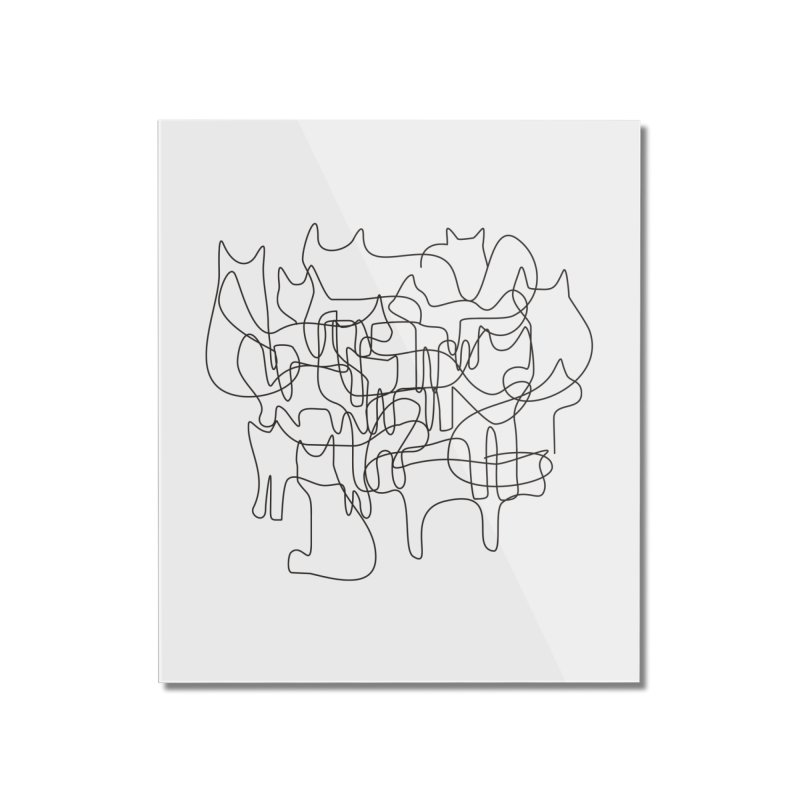 Cats Home Mounted Acrylic Print by bulo