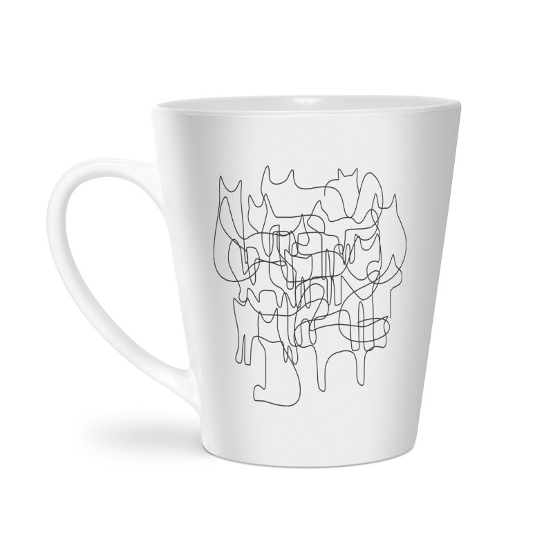 Cats Accessories Latte Mug by bulo