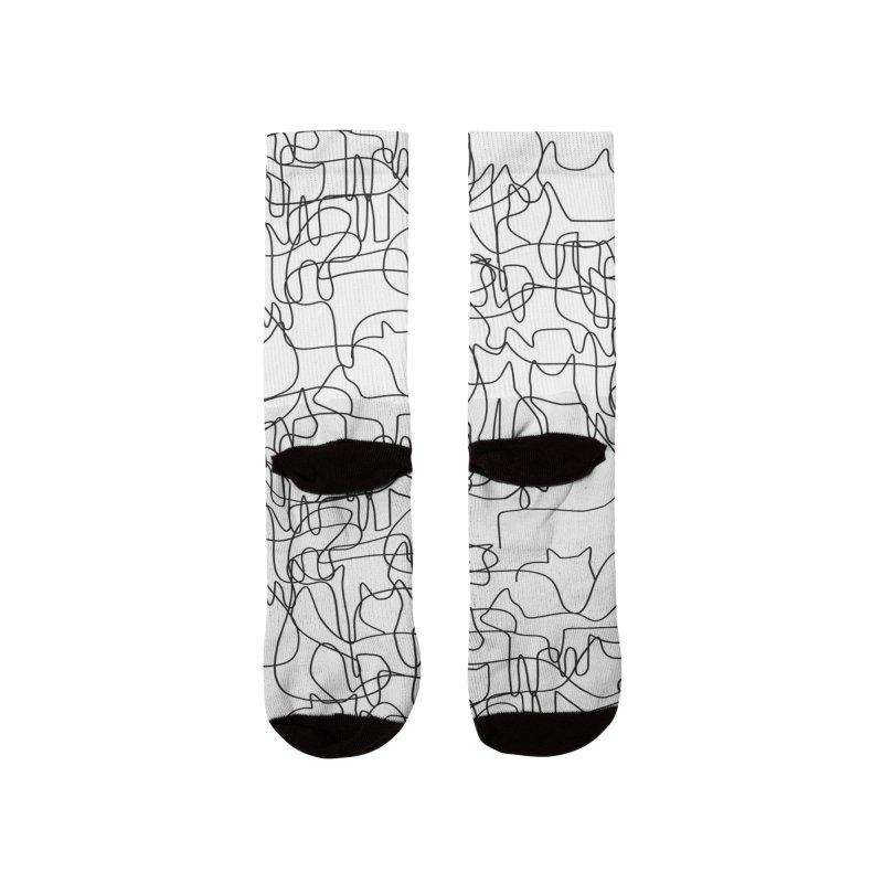 cats Men's Socks by bulo