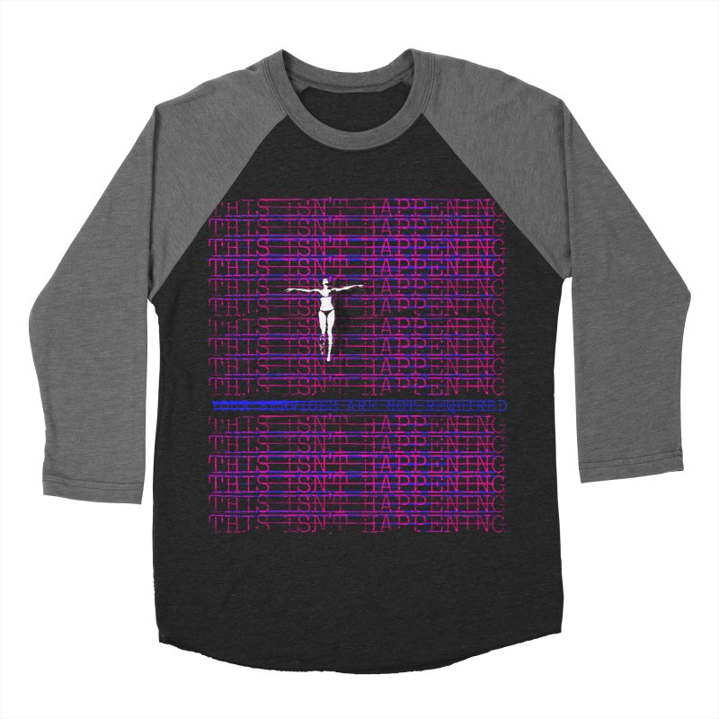 Not Required Men's Baseball Triblend Longsleeve T-Shirt by bulo