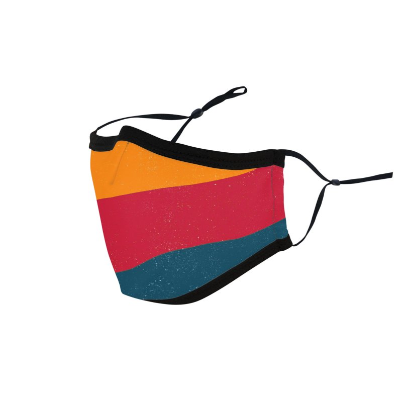 Yellow Hill Accessories Face Mask by bulo