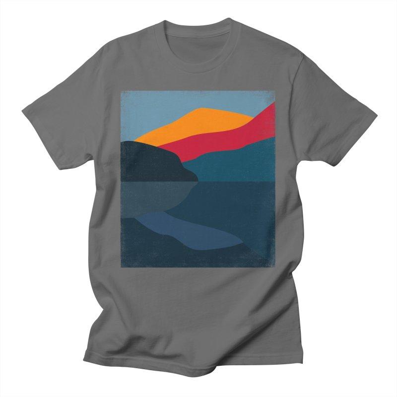 Yellow Hill Men's T-Shirt by bulo