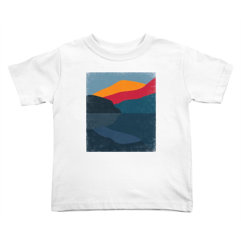 Yellow Hill Kids Toddler T-Shirt by bulo