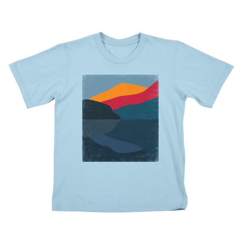 Yellow Hill Kids T-Shirt by bulo
