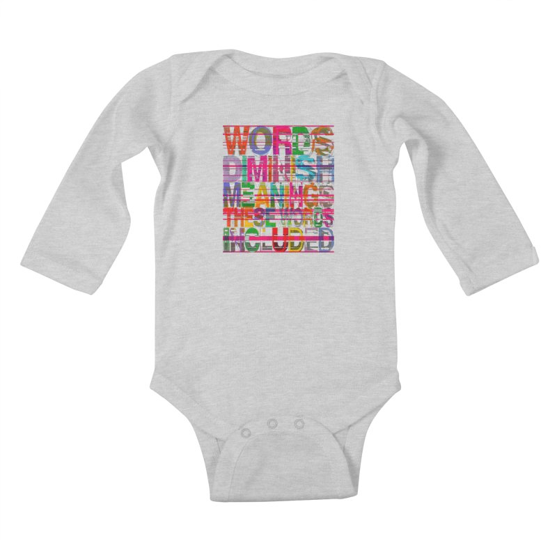 Unknown Kids Baby Longsleeve Bodysuit by bulo