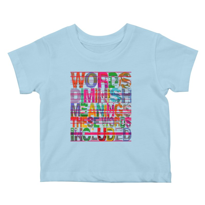 Unknown Kids Baby T-Shirt by bulo