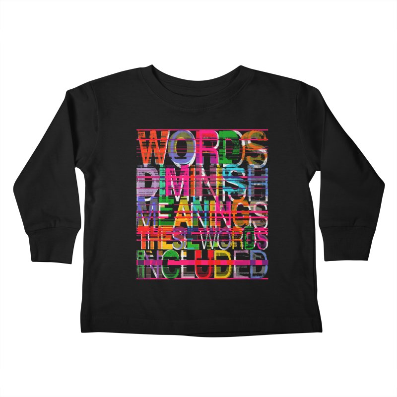 Unknown Kids Toddler Longsleeve T-Shirt by bulo