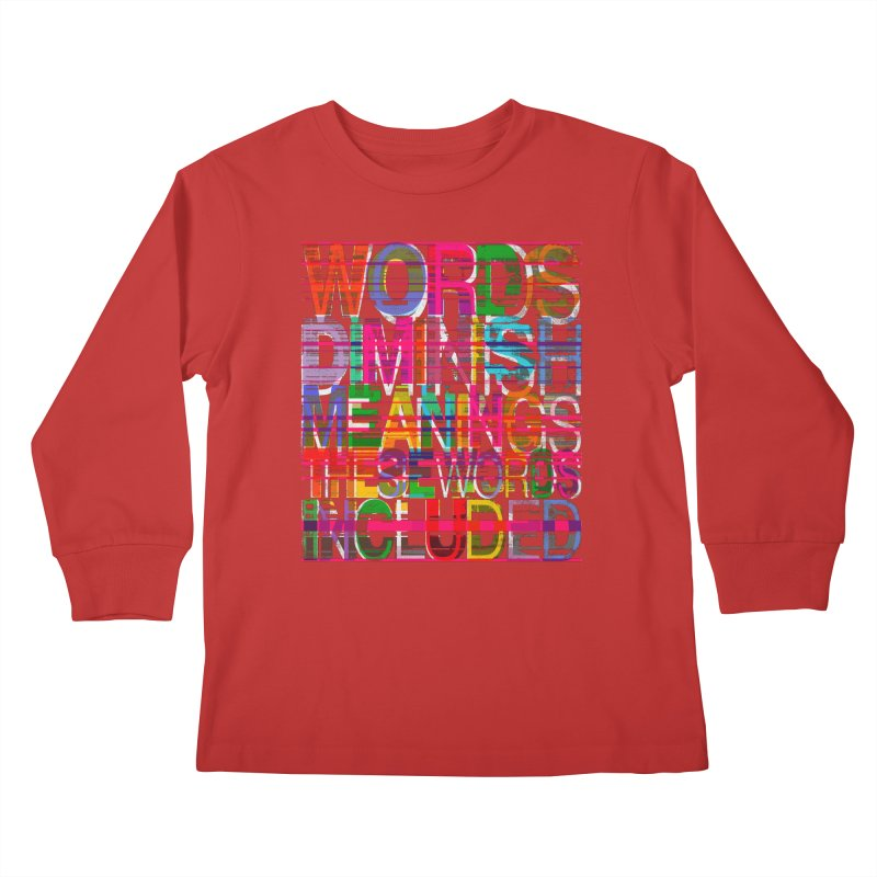 Unknown Kids Longsleeve T-Shirt by bulo