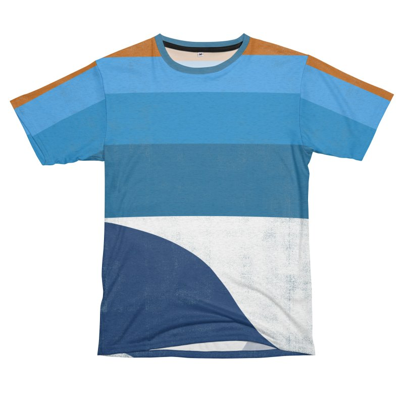 Feel the wave Men's French Terry T-Shirt Cut & Sew by bulo