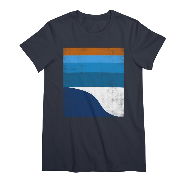 Feel the wave Women's Premium T-Shirt by bulo