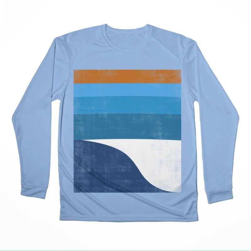 Feel the wave Women's Performance Unisex Longsleeve T-Shirt by bulo