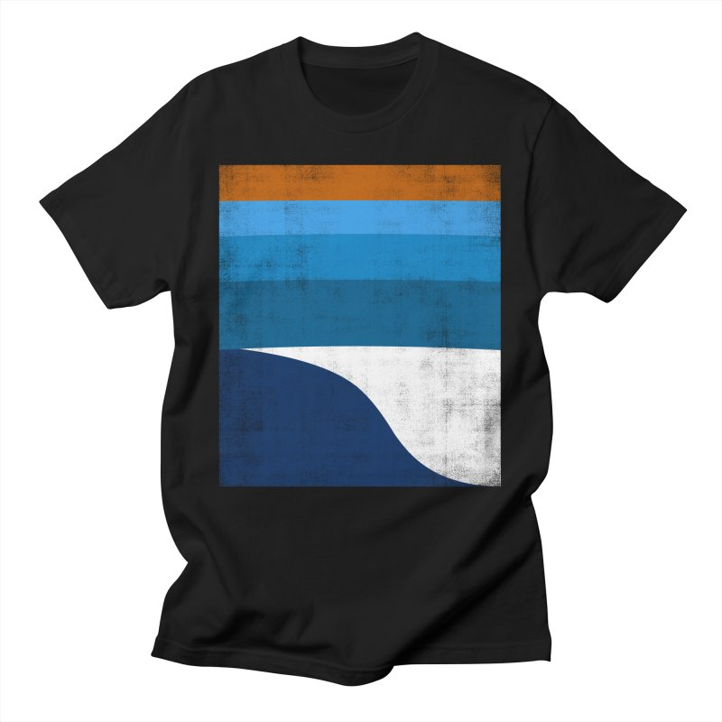 Feel the wave Men's T-Shirt by bulo
