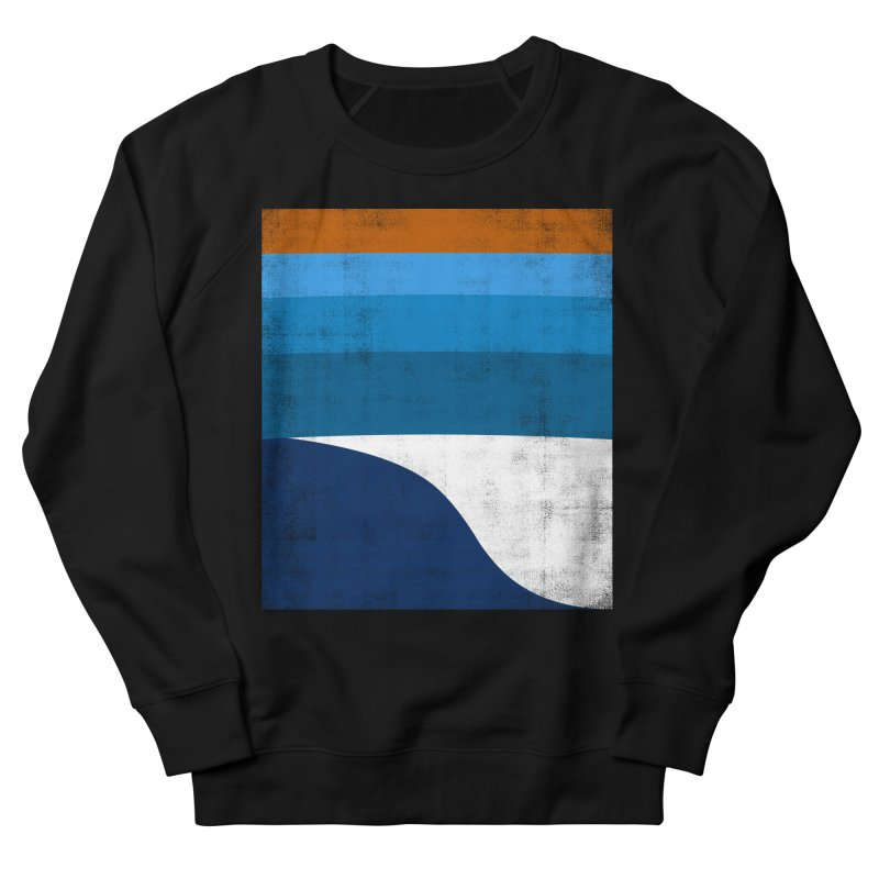 Feel the wave Women's French Terry Sweatshirt by bulo