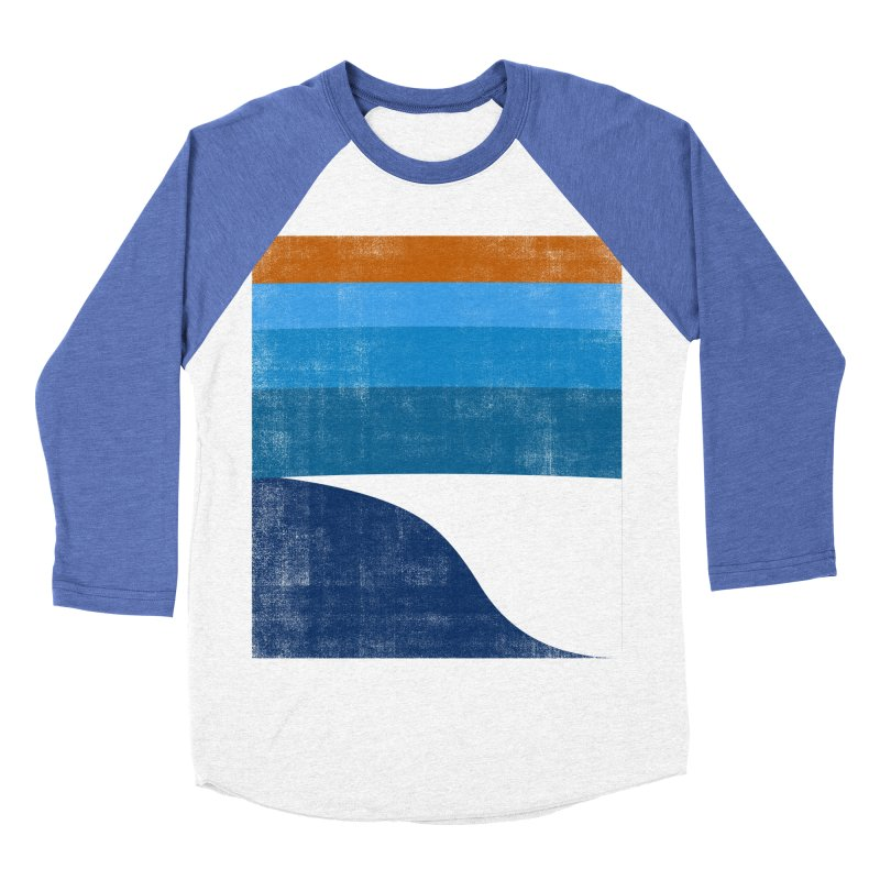 Feel the wave Men's Baseball Triblend Longsleeve T-Shirt by bulo